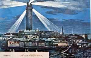 un'immagine della vecchia lanterna