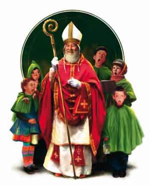 Storia Di San Nicola E Babbo Natale.San Nicolo