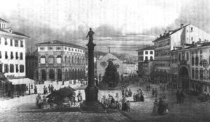 Piazza Unità fine '700